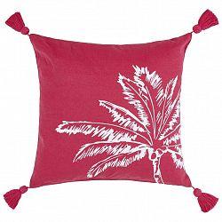 Dekorační Polštář Diamond Palm, 45/45 Cm, Růžová