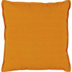 Polštář Ozdobný Solid One, 45/45cm, Oranžová