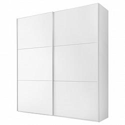 Skříň S Pos. Dveřmi.(hor.ved.) Includo 188 Cm Bílá