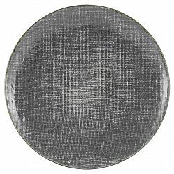 Talíř Jídelní Canvas, Ø: 28cm, Antracitová