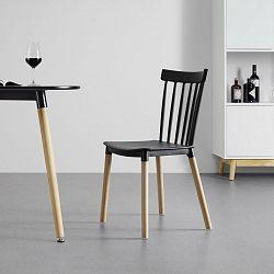 Židle Celine S Dřevěnými Nohami